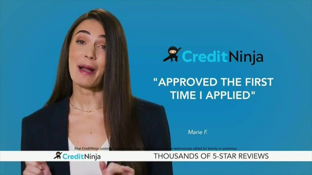 CreditNinja TV Commercial Ad 2020, Approved Fast