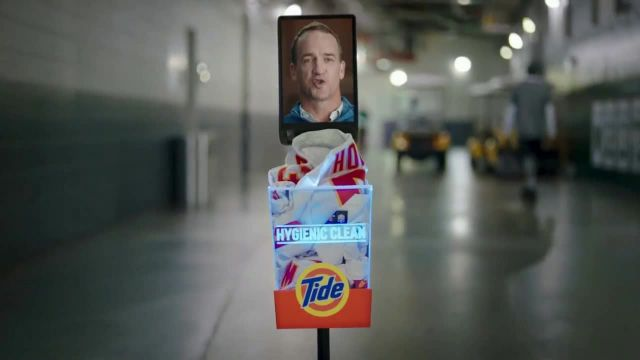Tide Hygienic Clean TV Commercial Ad 2020, Stairs- Twitter' Featuring Peyton Manning