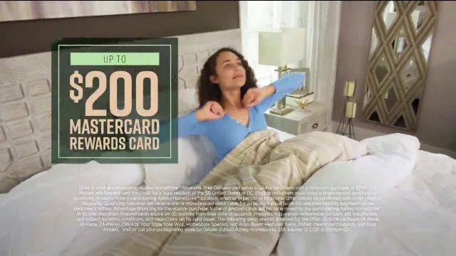 Ashley HomeStore Lowest Prices of the Season TV Commercial Ad 2020, 0% Interest and $300 Ashley Cash