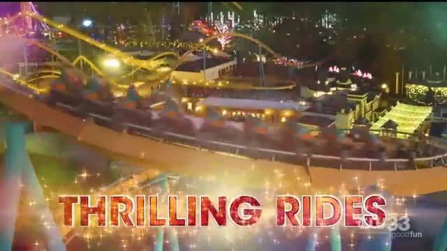 Six Flags Holiday in the Park TV Commercial Ad 2020 The Spirit of the Season