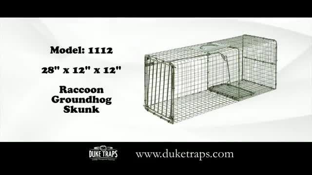 Duke Traps TV Commercial Ad 2020, Animal Control