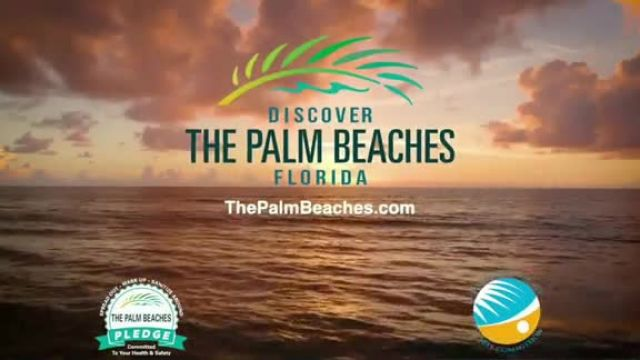 Discover the Palm Beaches TV Commercial Ad 2020, Open Spaces and Sunny Places