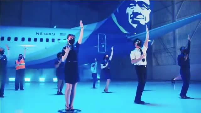 Alaska Airlines TV Commercial Ad 2020, Alaska Safety Dance- Buy One, Get One Free