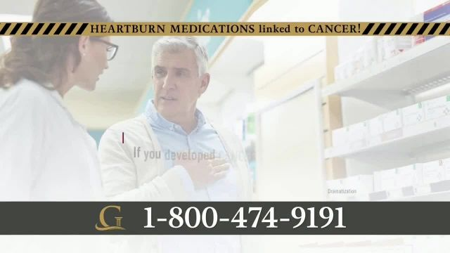 Goldwater Law Firm TV Commercial Ad 2020, Heartburn Medications Linked to Cancer