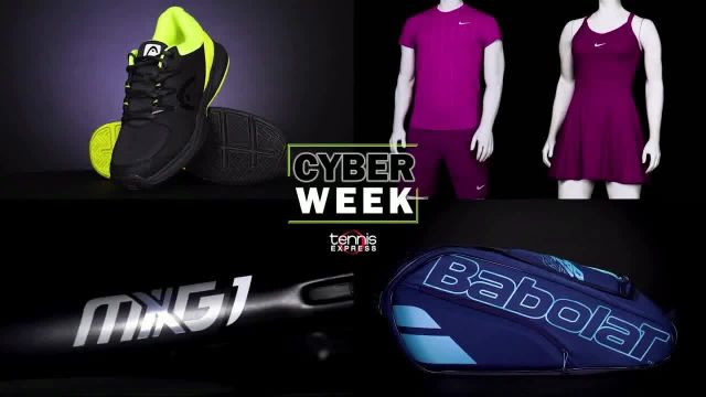 Tennis Express Cyber Week Sale TV Commercial Ad 2020, Save Big