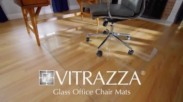 Vitrazza TV Commercial Ad 2020, Glass Office Chair Mats- Save 20%