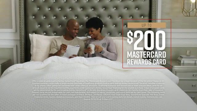 Ashley HomeStore Fall in Love With Home Mattress Sale TV Commercial Ad 2020, 0% Interest, $300 Ashle