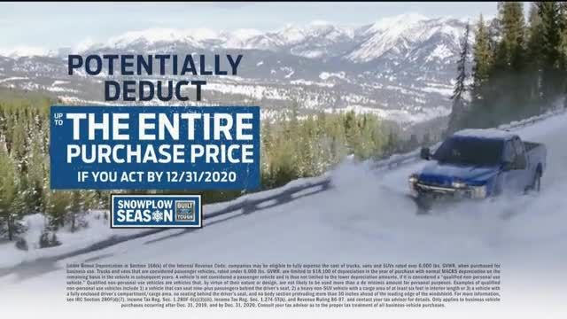 Ford Snowplow Season TV Commercial Ad 2020, We Own Winter