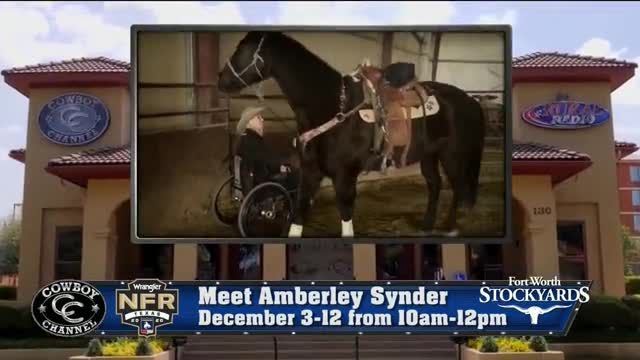 Wrangler National Finals Rodeo TV Commercial Ad 2020, Meet Amberley Snyder