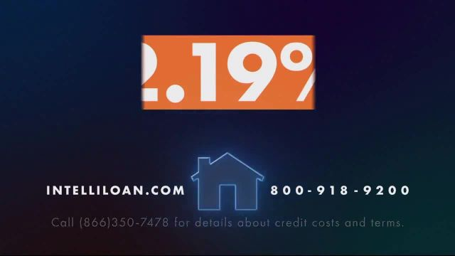 Intelliloan TV Commercial Ad 2020, Find a Great Home Loan Rate- 219% APR