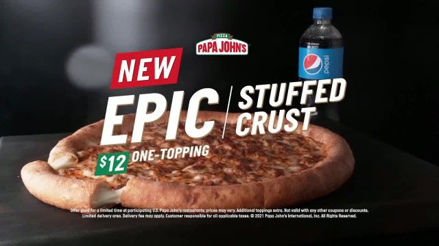 Papa John's TV Commercial Ad 2021, Ain't Just Stuffed Crust' Song by Biz Markie