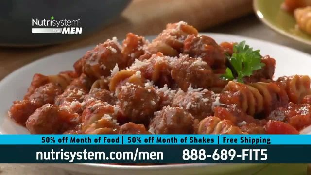 Nutrisystem 50_50 Deal TV Commercial Ad 2021, Doorbell- 50 Percent Off Food and Shakes