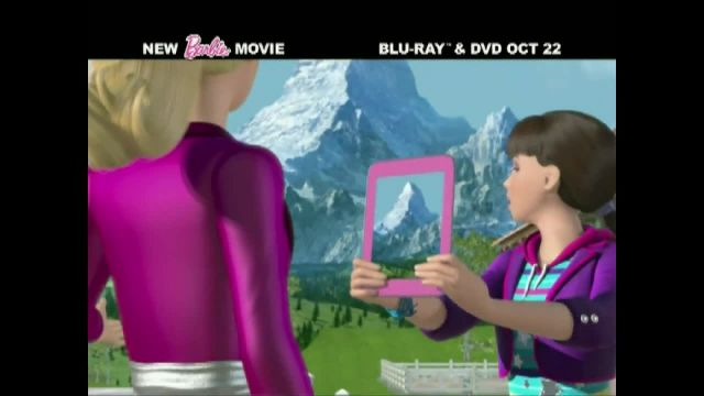 Barbie & Her Sisters in A Pony Tale Blu-ray and DVD TV Spot Ad 2021