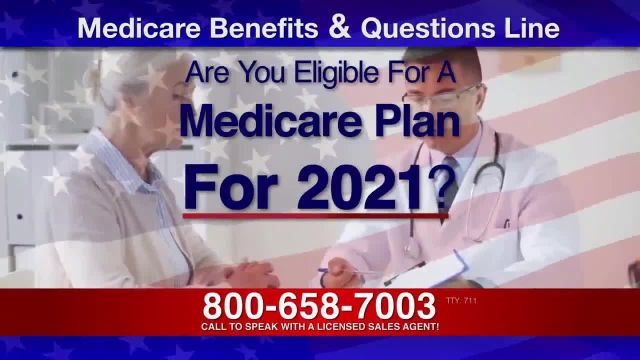 Medicare Benefits & Questions Line TV Commercial Ad 2021, Attention Seniors- COVID-19 To