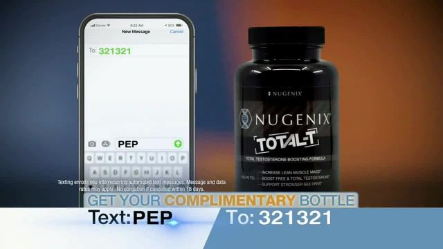 Nugenix Total-T TV Commercial Ad 2021, Feel Younger