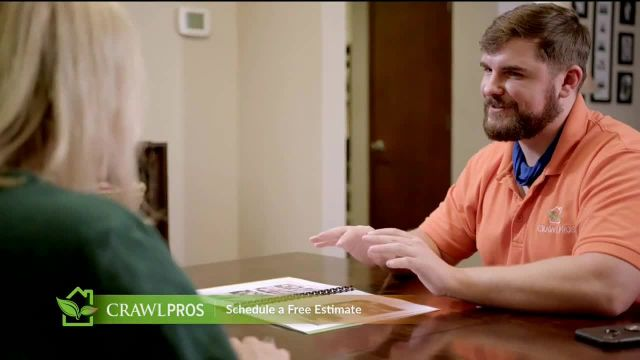 Crawl Pros TV Commercial Ad 2021, Water in a Crawl Space