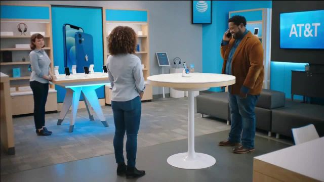 AT&T Wireless TV Commercial Ad 2021, Lily Excited- $0 iPhone 12 Mini