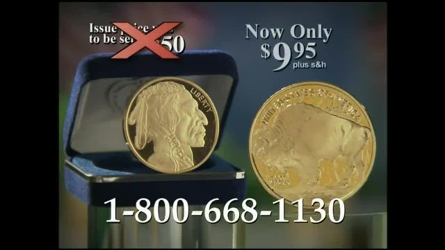 National Collector's Mint TV Commercial Ad 2021, 2014 Buffalo