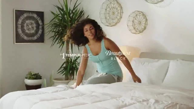 Ashley HomeStore New Years Sale TV Commercial Ad 2021, Extendia- Tempur-Pedic y Beautyrest Black