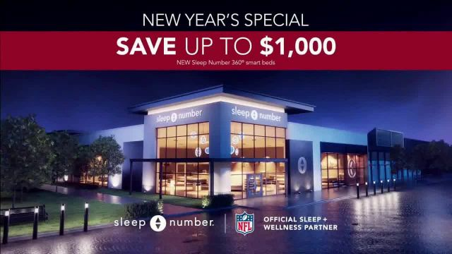 Sleep Number Lowest Prices of the Season TV Commercial Ad 2021, New Year's Special- Balance- Sa