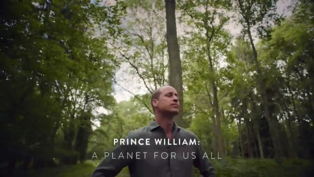 Discovery+ TV Commercial Ad 2021, Prince William- A Planet for Us All