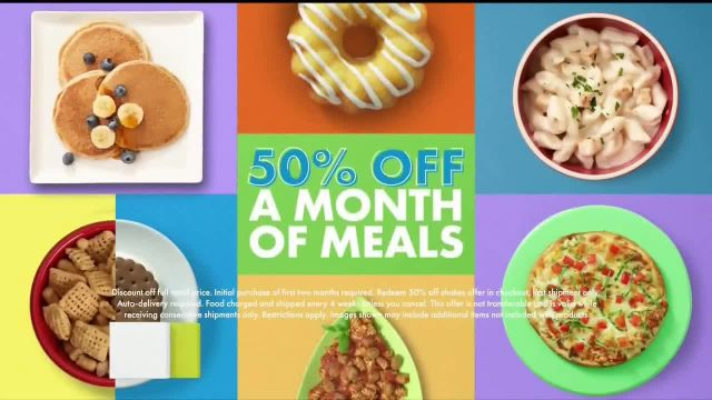 Nutrisystem TV Commercial Ad 2021, Knock Knock- 50% Off Month of Meals and Shakes