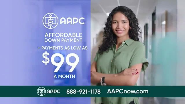 American Academy of Professional Coders TV Commercial Ad 2021, Urgent Need
