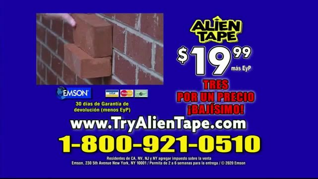 Alien Tape TV Commercial Ad 2021, Por fin