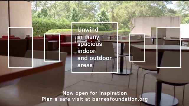The Barnes Foundation TV Commercial Ad 2021, Open for Inspiration