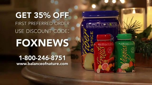 Balance of Nature TV Commercial Ad, Holidays- Give the Gift of Health