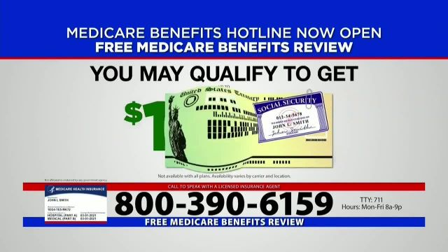 Medicare Benefits Hotline TV Commercial Ad 2021, Now Available- COVID-19