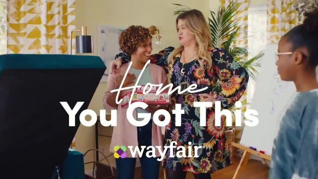 Wayfair TV Commercial Ad 2021, What You Want' Featuring Kelly Clarkson