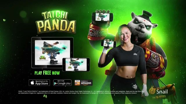 Taichi Panda TV Commercial Ad 2021, The Warrior's Path' Featuring Ronda Rousey