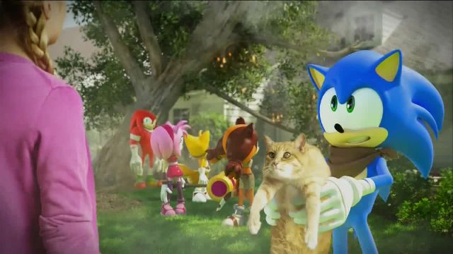 Sonic Boom- Rise of Lyric TV Commercial Ad 2021, Kitty