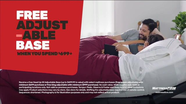 Mattress Firm Year-End Sale TV Commercial Ad 2021, Save up to $300- $299 Sealy Queen