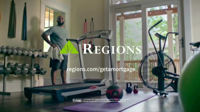 Regions Bank TV Commercial Ad 2021, The Perfect Home