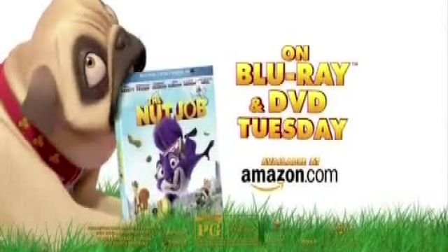 The Nut Job Blu-ray and DVD TV Spot Ad 2021