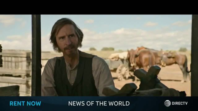 DIRECTV Cinema TV Commercial Ad 2021, News of the World