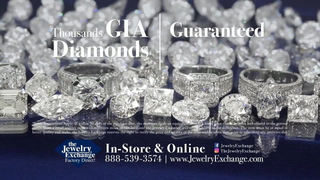 Jewelry Exchange TV Commercial Ad 2021, Luxury- Rings and Pendant