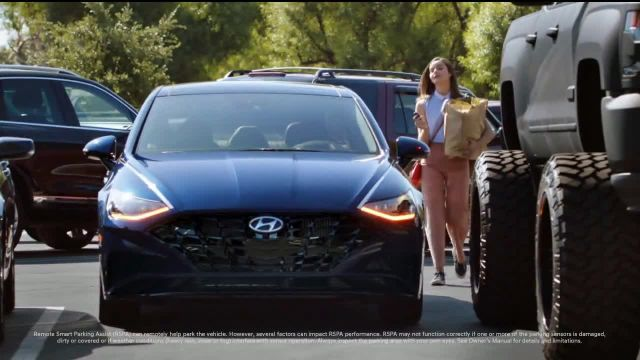 2020 Hyundai Sonata TV Commercial Ad 2021, Remote Smart Parking Assist