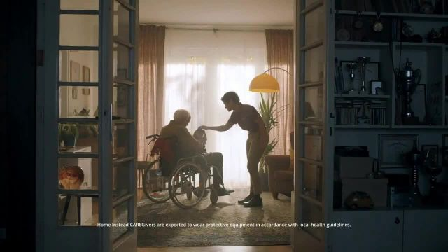 Home Instead TV Commercial Ad 2021, A Life Well Lived Should Continue at Home- Meet Jeff