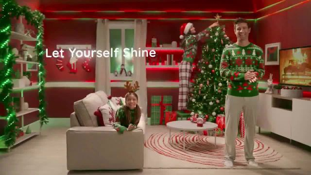 Govee TV Commercial Ad 2021, Let Yourself Shine- Christmas Sweater