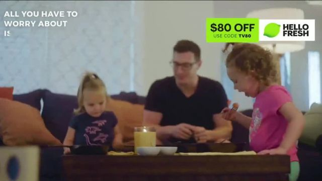 HelloFresh TV Commercial Ad 2021, Here in This Moment- $80 Off