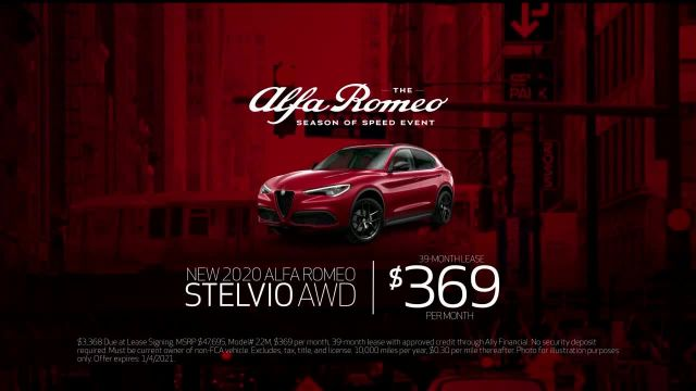 Alfa Romeo Season of Speed Event TV Commercial Ad, Control' Song by Emmit Fenn