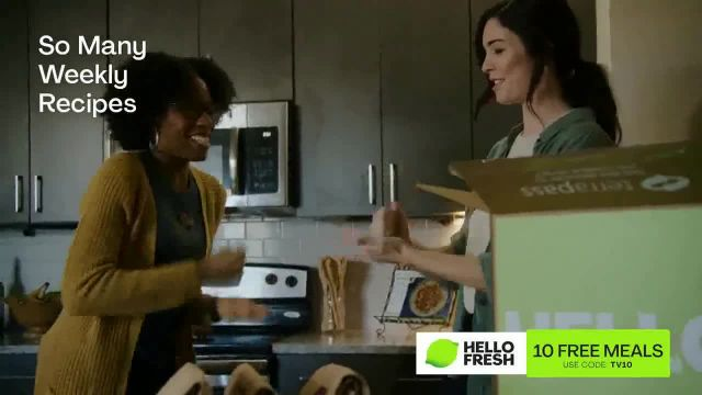 HelloFresh TV Commercial Ad 2021, New Year- 10 Free Meals