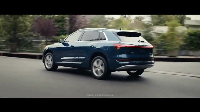 2019 Audi e-tron TV Commercial Ad, The Next Frontier of Electric'