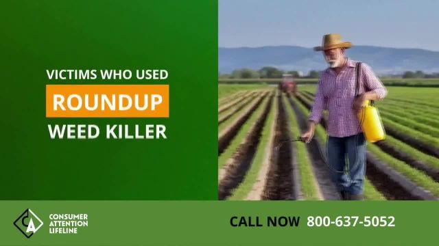Consumer Attention TV Commercial Ad 2021, Roundup Weed Killer