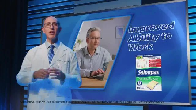 Salonpas TV Commercial Ad 2021, Clinical Trial Evidence