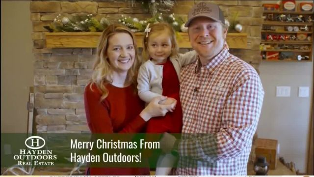 Hayden Outdoors TV Commercial Ad 2021, Merry Christmas From the Family