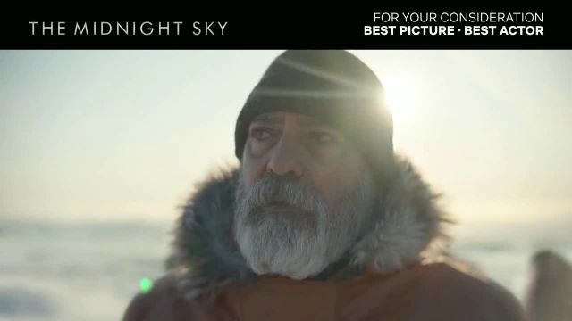 Netflix TV Commercial Ad 2021, The Midnight Sky
